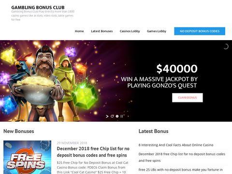 Gambling Bonus Club