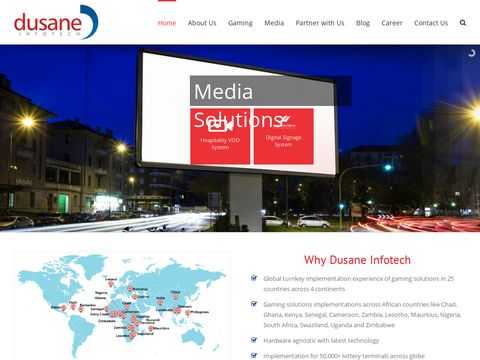 Gaming solutions, Media Solutions & Transactions solutions   Dusane