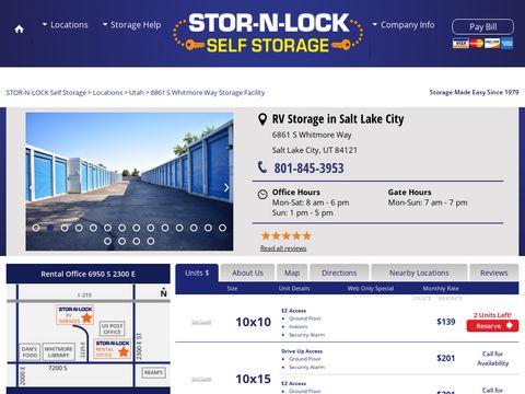 Stor-n-Lock RV Cottonwood Heights
