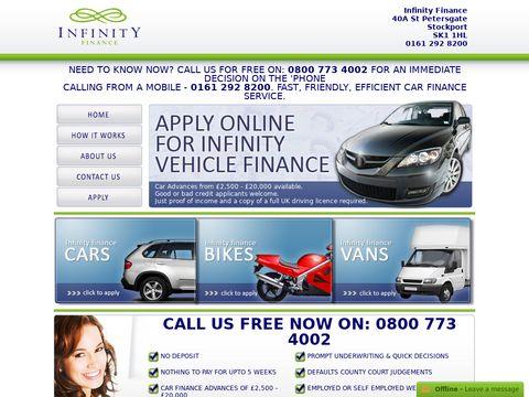 Infinity car finance