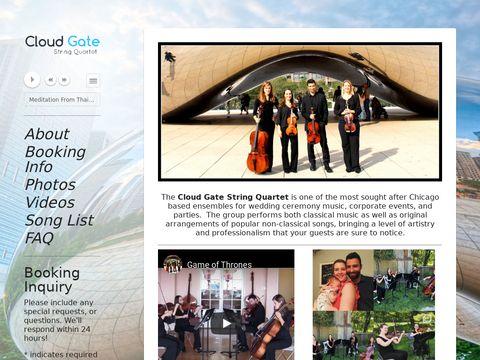 Cloud Gate String Quartet - Chicago Wedding Musicians