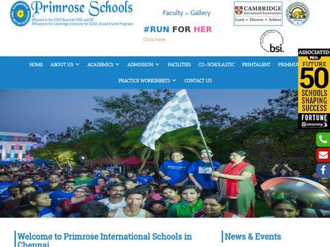 Top 10 ICSE Schools in Chennai | Best Pre Schools in Chennai – Primrose