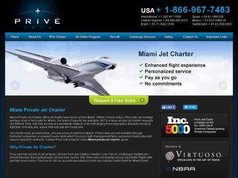 Miami Jet Charter