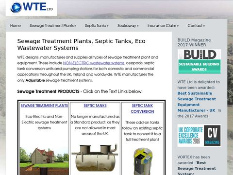 WTE Sewage Treatment Solutions