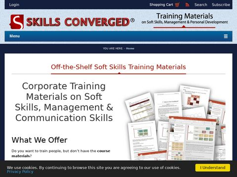Skills Converged, Training Course Materials