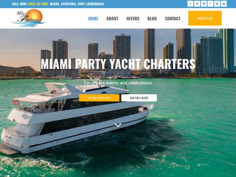 Charter yacht and boat Miami