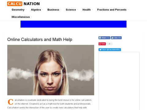 CalcuNATION Online Calculators