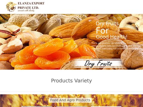 Elanza Exports is the fastest growing bulk exporter of Agro products, food and processed products, Consumables, Coir Products, Textiles from Madurai (Tamil Nadu), India. We deal in products like Basmati, Cashew Nuts, Chickpeas, Chilli, Coffee Beans, Eggs, Fresh Coconut, Fresh Mango Pulp, Garlic, Guargum, Indian Red Onion, Non Basmati, Peanuts,Raisins, Sesame Seeds, Tamarind, Turmeric, Walnuts, Wheat, Cardamom Clove and Cinnamon, Coriander Seeds, Cumin Seeds, Fennel Seeds, Fenugreek Seeds, Maize, Millet, SoyBean, Cotton yarn, Fabrics, Fresh Jute Bags, Raw Cotton, Coco Peat, Coir Fibre.