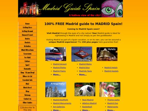 Madrid Spain - Vacation & City Information in English