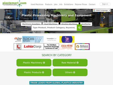 Plastics Products manufacturers, Plastic Bags & Used Machines suppliers