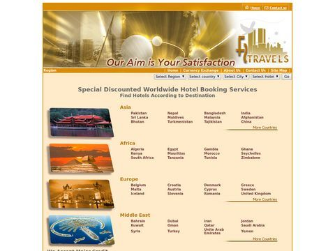 Five Star Travel & Tours (Pvt.) Ltd. - Hotel Booking Services - Affordable Worldwide Hotels