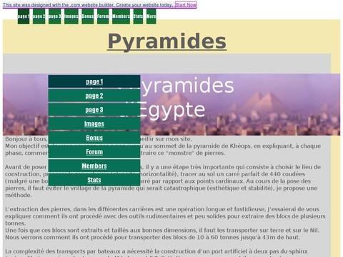 site pyramides