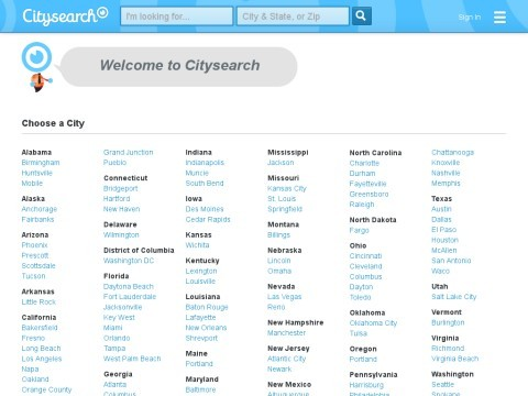 City Guides by Citysearch