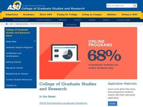 graduate schools in texas
