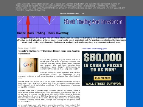 Stock Trading-Investment
