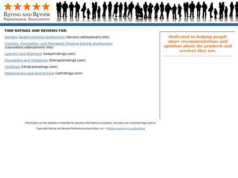 Rating and Review Professional Association