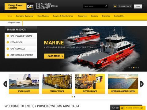 Diesel Generators | Gas Generators | Rental Generators | CAT Australia