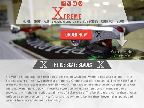 Xtreme Ice Blades