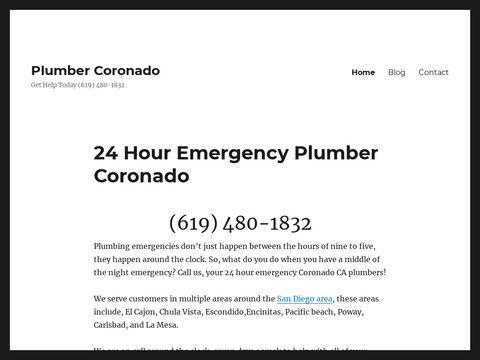 Plumber Coronado