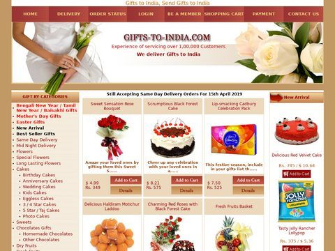 Send Valentines Gifts To Anywhere Day in India