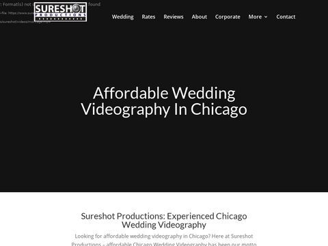 Chicago HD Wedding Video/ Sureshot Productions