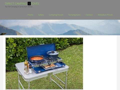 Camping stoves, camping grills and propane stoves including
