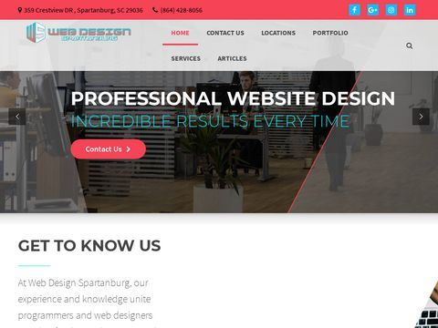 Web Design Spartanburg