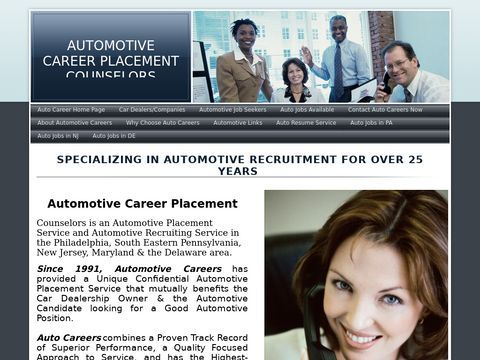 Automotive Careers Placement