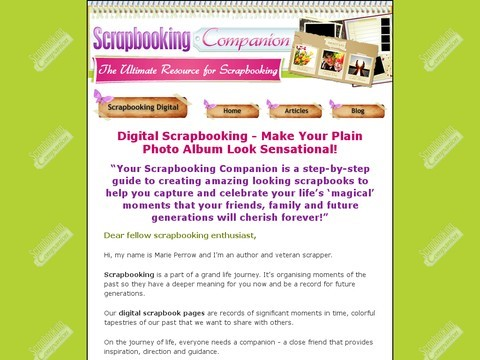 Digital Scrapbooking Ideas