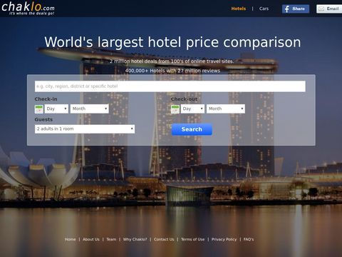 Compare hotel prices to get a luxury hotel reservations