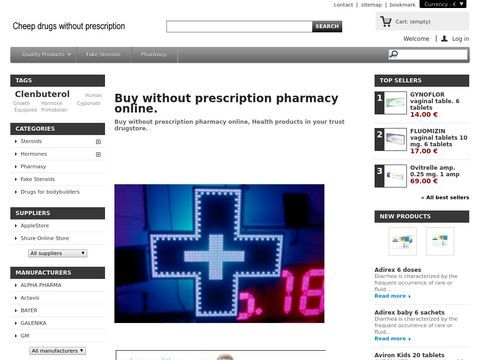 Online pharmacy without prescription drugs