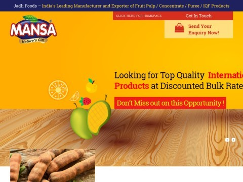 processed foods products and agro commodities