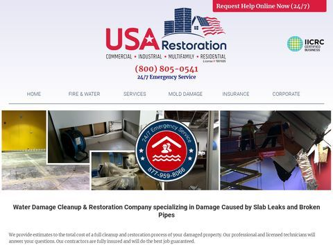 Water Fire Damage Cleanup Restoration