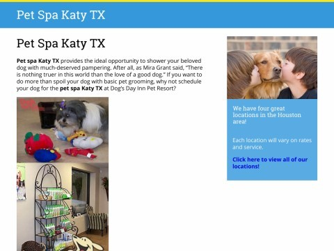 Dogs Day Inn Pet Resort Katy TX