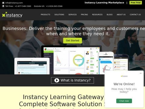 Learning Management System - Instancy
