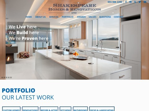 North Vancouver and West Vancouver Construction and Renovations Service