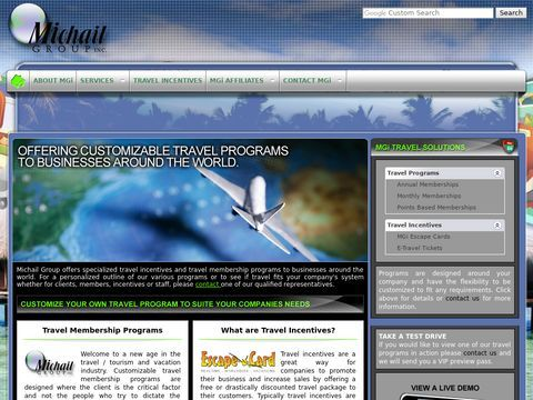 Michail Group Travel Incentives, Travel Membership Programs