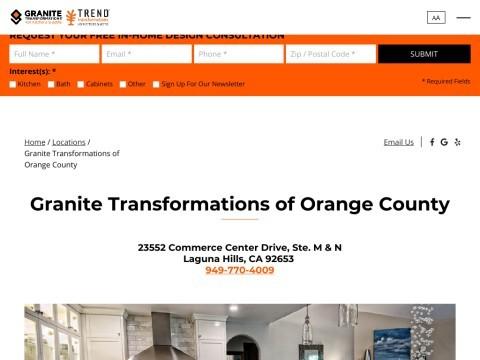 Orange County Kitchen Remodeling