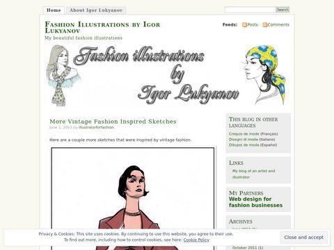 Fashion Illustrations by Igor Lukyanov