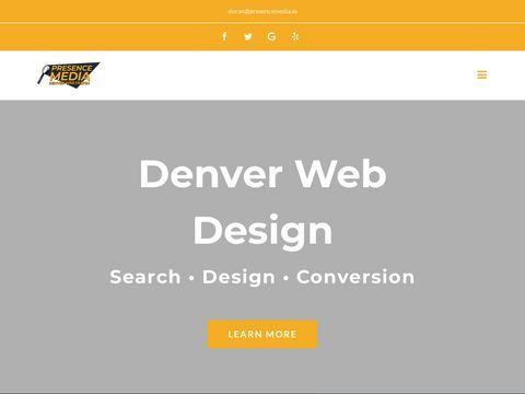 Presence Media Denver Web Design | Fully Optimized WebsitesP