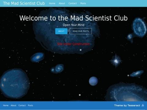 The Mad Scientist Club