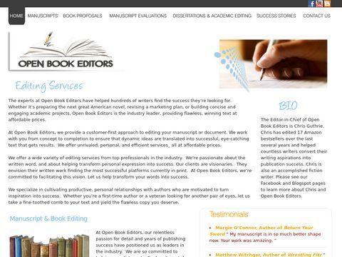 Open Book Editors