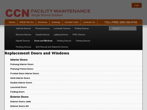 CCN FACILITY MAINTENANCE, INC