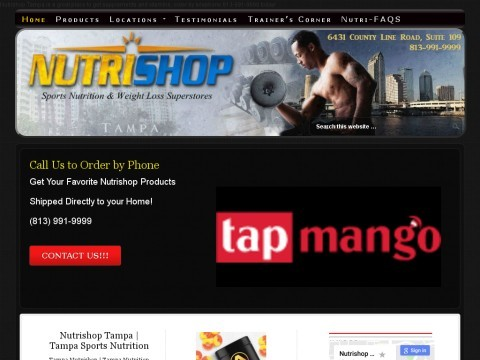 Nutrishop Tampa FL | Sports Nutrition | Health Supplements