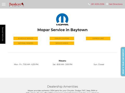 Bayshore Vehicle Service Center