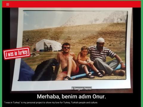 I was in Turkey