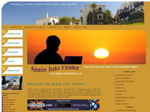A Spain information Finder