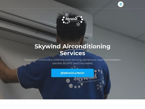 Skywind Airconditioning Services - Home - Singapore Aircon Maintenance & Repair