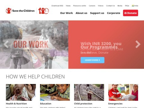 Save The Children NGO and Child Rights Organization
