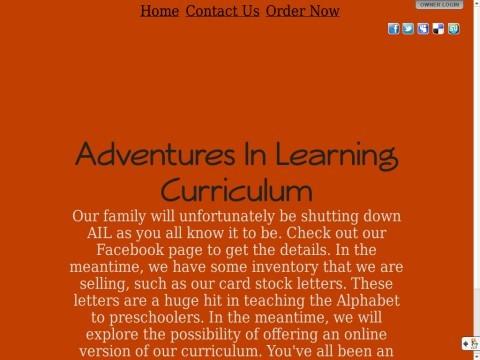 Adventures In Learning Preschool Curriculum